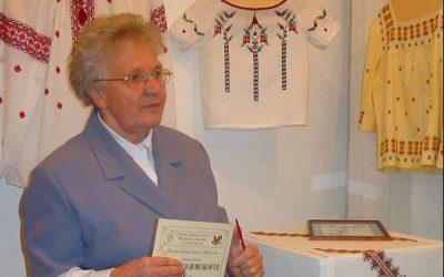 Olga Sachryń, Węgorzewo – hafciarstwo