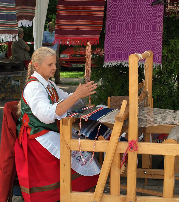 Anna Bałdyga, Mazuchówka, gm. Wydminy  – tkactwo, plastyka obrzędowa